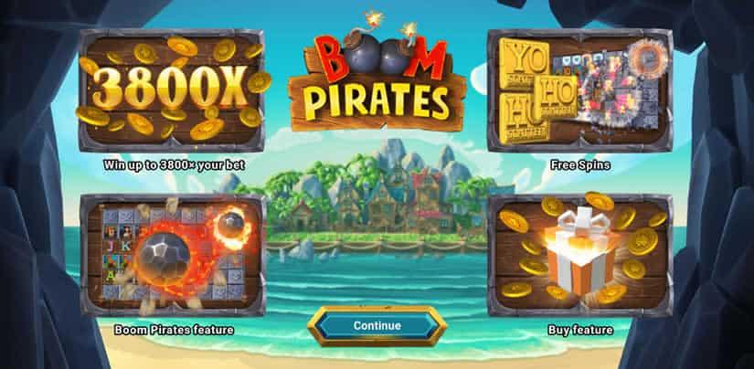 Boom Pirates slot Presentation