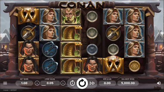 Conan Slot by NetEnt