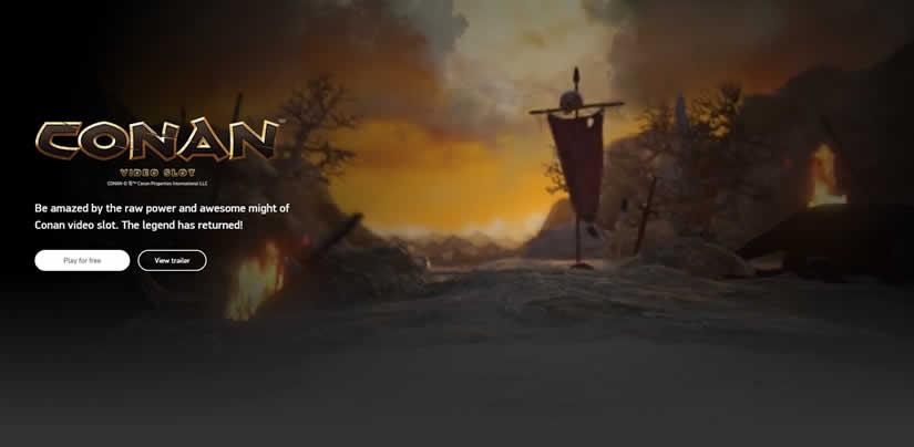 Conan Slot Presentation by NetEnt