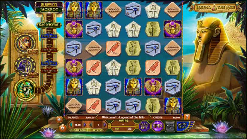 Legend of Nile slot by Betsoft: Best Egypt themed slot machines