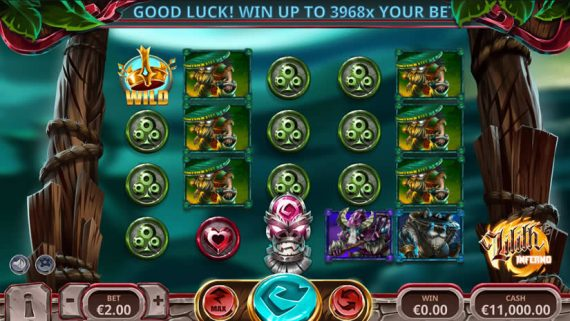 Lilith's Inferno slot by Yggdrasil Preview