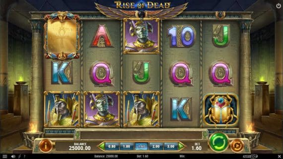 Rise of Dead slot by Play'N Go