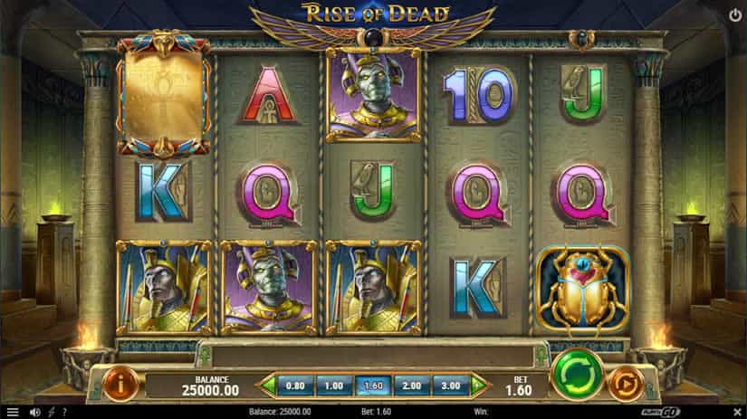 Rise of Dead slot by Play'N Go: Top 9 Egypt themed slot machines