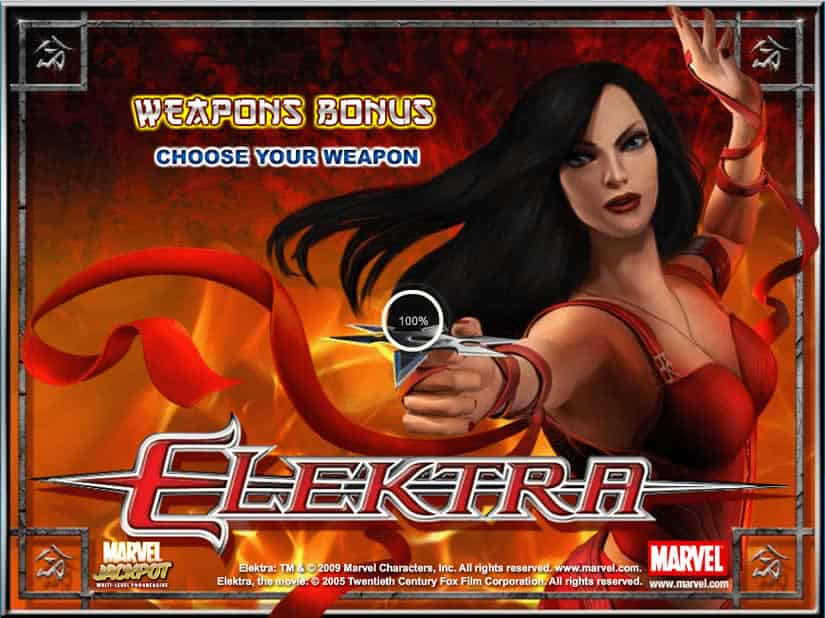 Elektra slot by Playtech