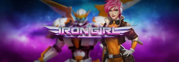 Iron girl slot by Play'N Go