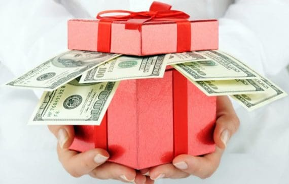 Money Gifting around the world