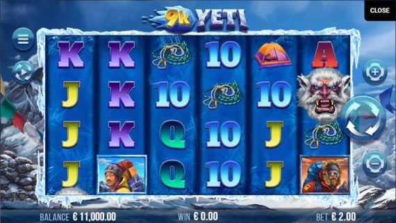 9k Yeti Slot by Yggdrasil Gaming
