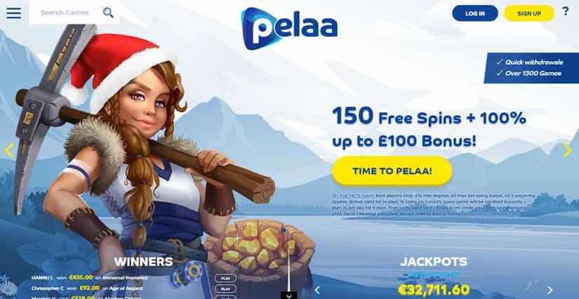 Pelaa Casino Homepage