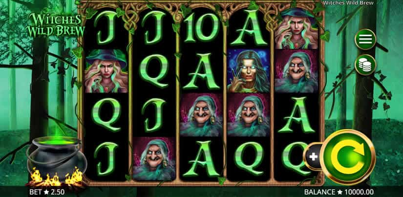 Witches Wild Brew slot by Booming Games