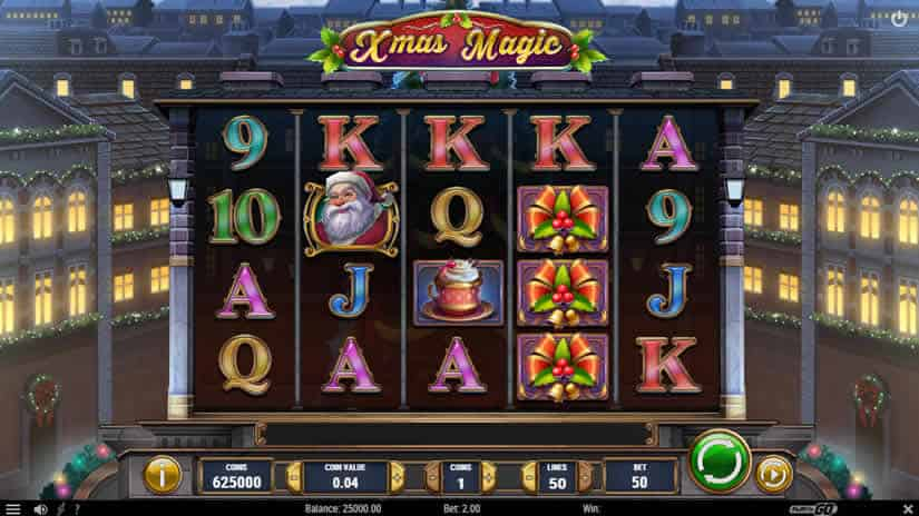 Xmas Magic slot by Play'N Go