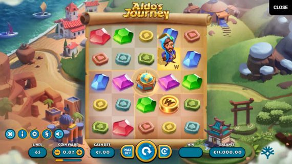 Best slots to play in January 2020: Aldo's Journey by Yggdrasil
