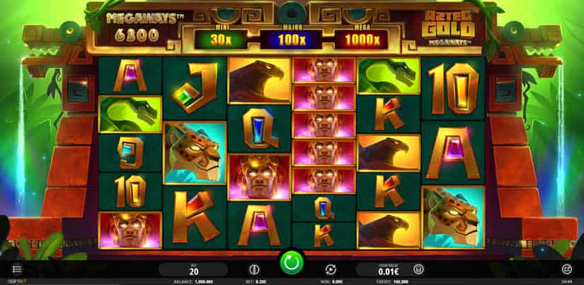 Best slots to play in January 2020: Aztec Gold Megaways by iSoftBet