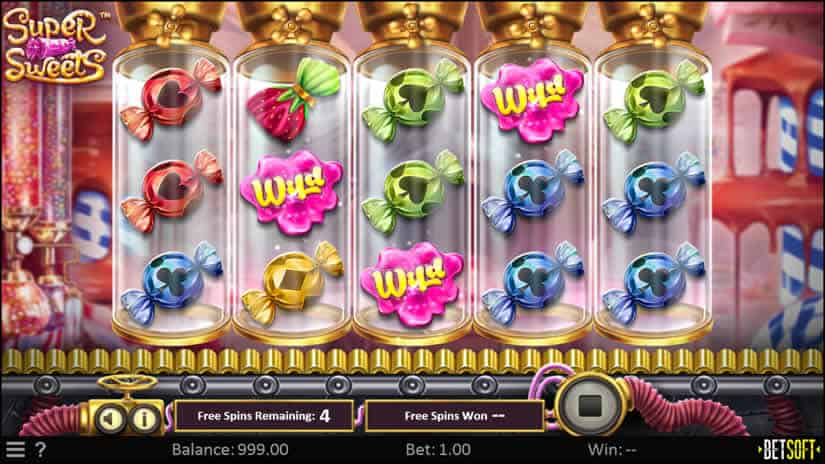 Super Sweets slot by Betsoft: One of the best slotmachines to play in february 2020