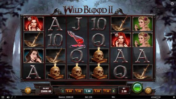 Wild Blood II slot by Play'N GO: One of the best slotmachines to play in february 2020