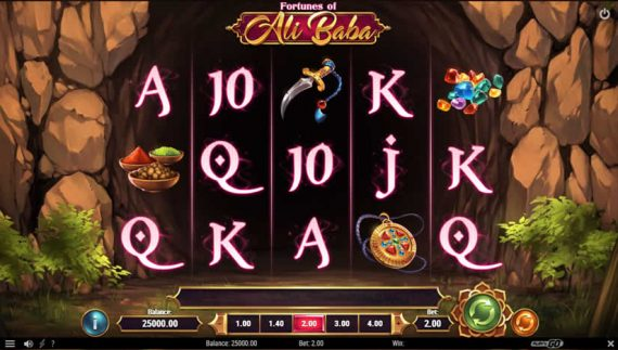 Fortunes of Ali Baba slot by Play'N Go: One of the best slots to play in March 2020
