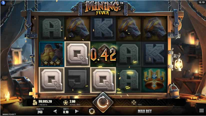 Mining Fever slot by Microgaming: Best slots to play in April 2020