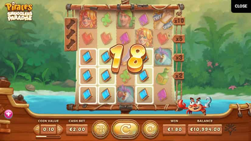 Pirates: Smuggler's Paradise Slot by Yggdrasil: Best slots to play in April 2020