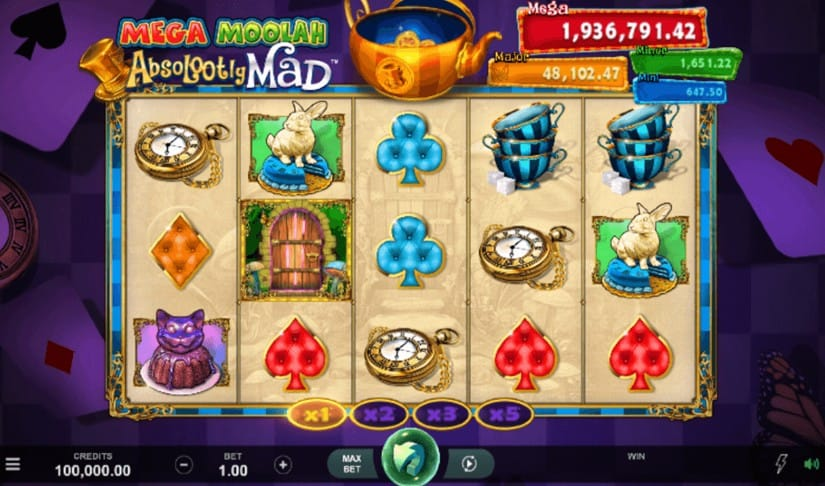 Mega Moolah Absolootly Mad Slot