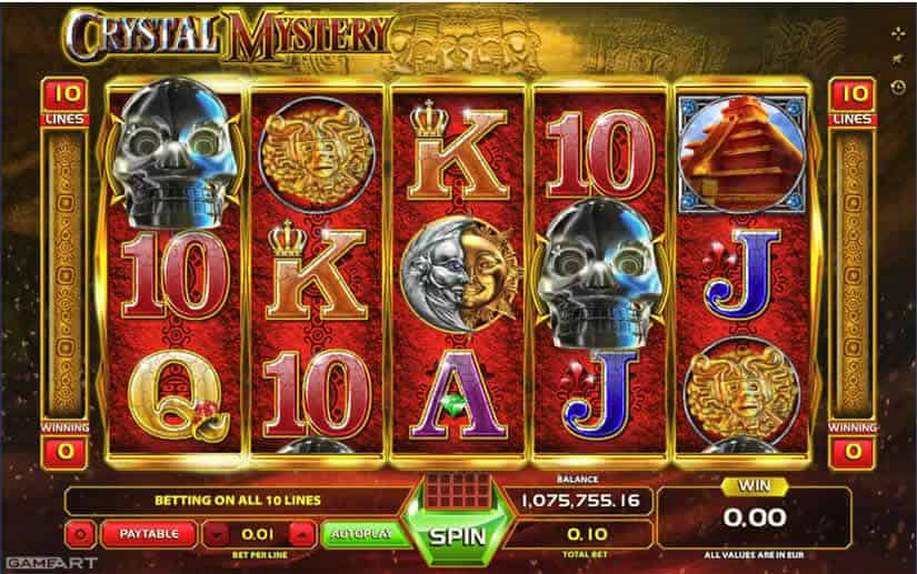 Crystal Mystery slot by GameArt