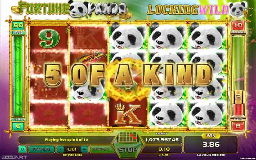Fortune Panda slot by GameArt