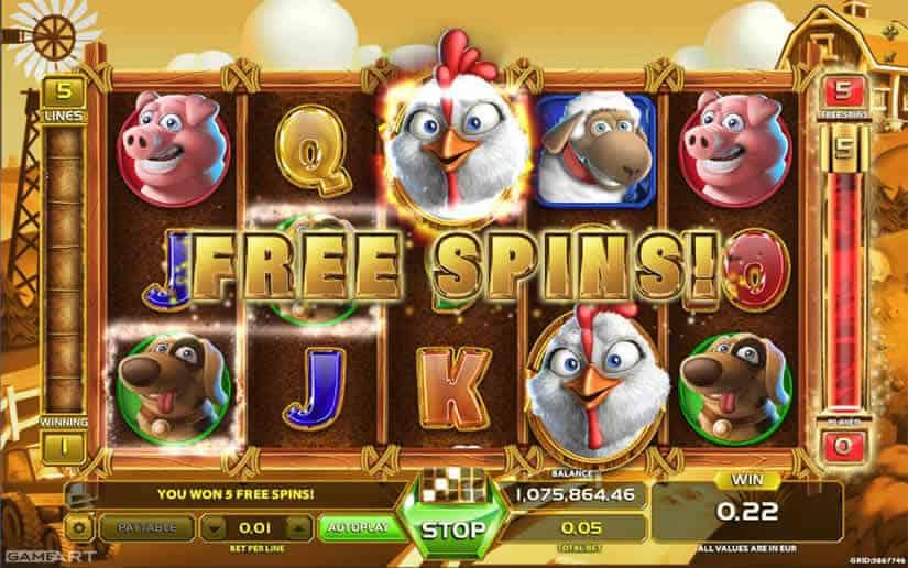 GameArt top 10 Slots: Money Farm