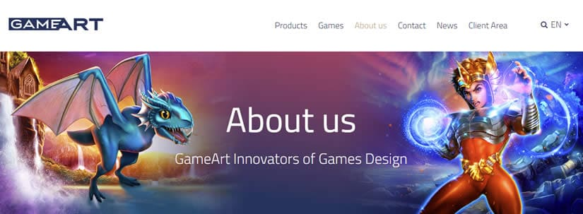 GameArt Gaming About us page