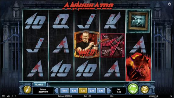 Annihilator slot by Play'N Go