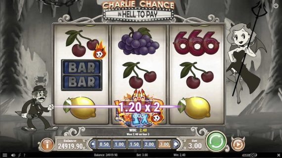 Charlie Chance in Hell to Pay slot by Play'N Go: Best slots to play in June 2020