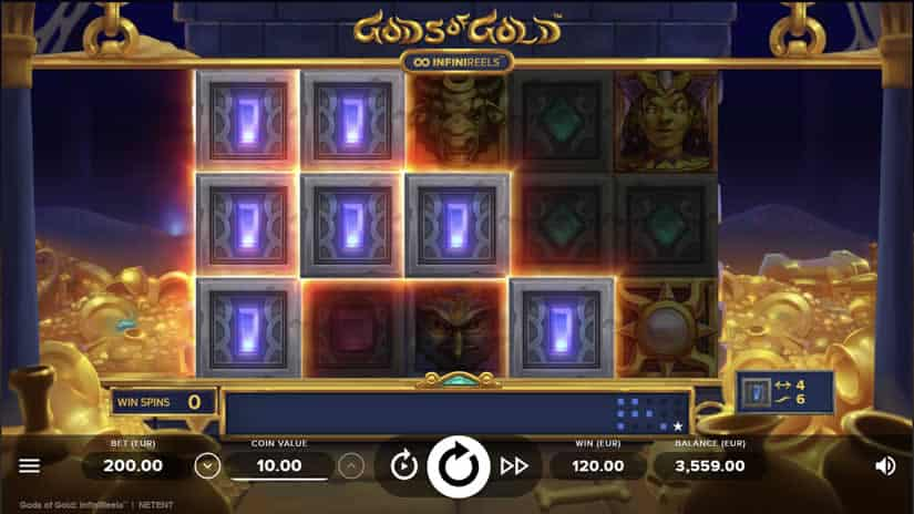 Gods of Gold slot by Netent