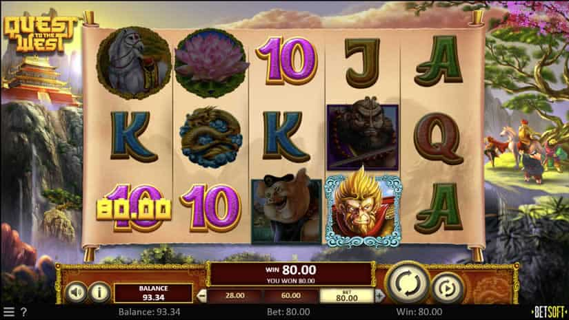 Quest to the West slot by Betsoft: Best slots to play in June 2020