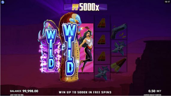 Aurora The Beast Hunter slot by Microgaming: One of the best slots to play in July 2020