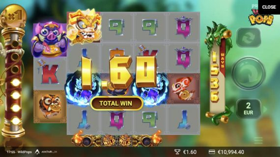Wild Pops slot by Yggdrasil Gaming : One of the best slots to play in July 2020