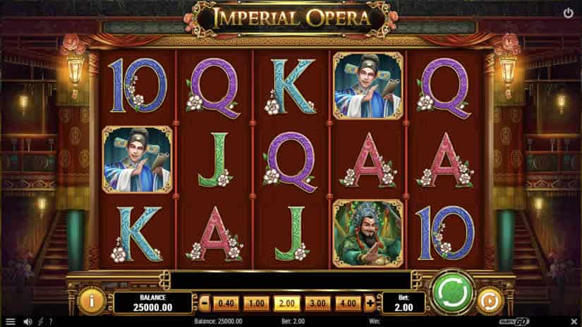 Asian themed Slots: Imperial Opera by Play'n Go