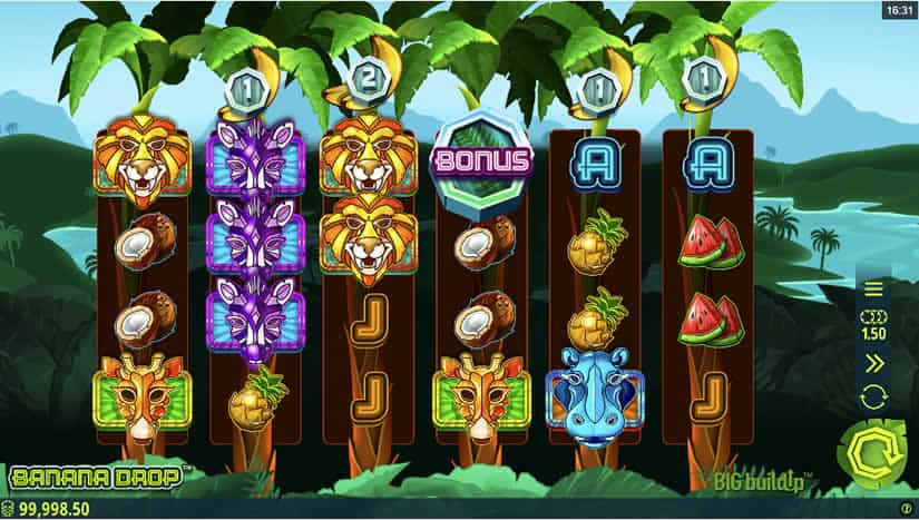 Best slots to play in August 2020: Banana Drop slot from Microgaming