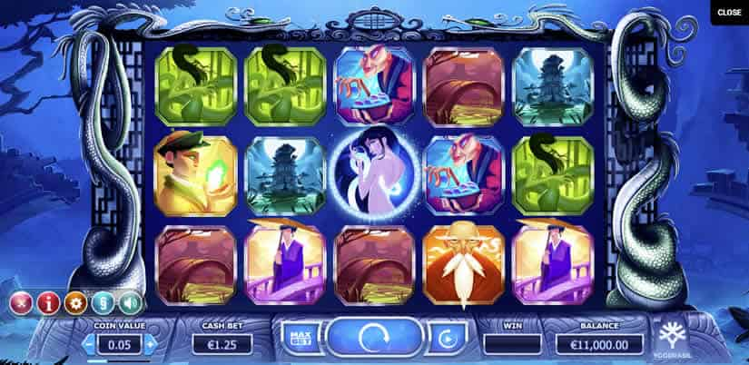 Asian themed Slots: Legend of the White Snake Lady by Yggdrasil Gaming