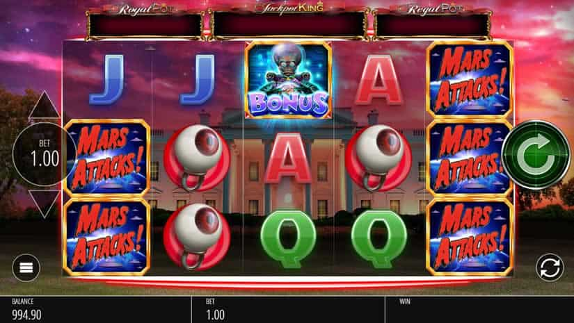 Mars Attack Jackpot Slot by Blueprint Gaming