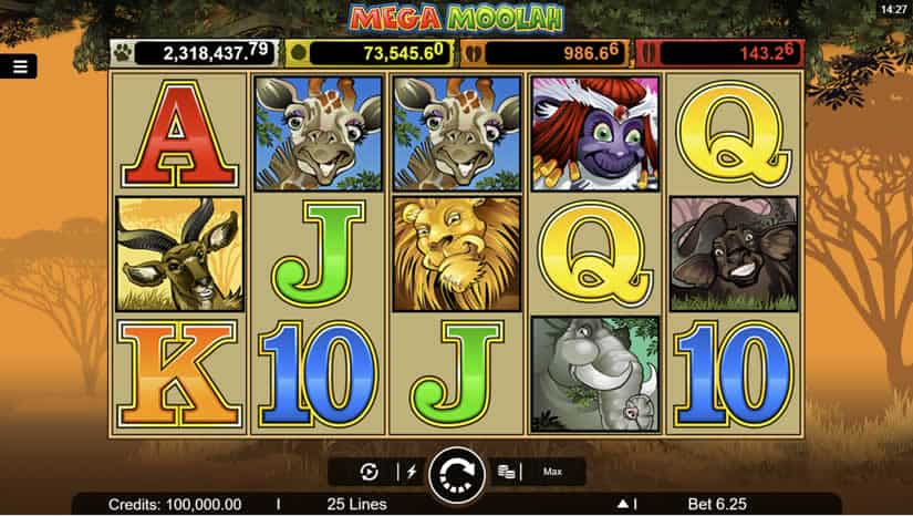 Mega Moolah slot from Microgaming: Biggest Video Slot Jackpots