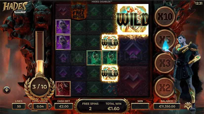Hades slot by Yggdrasil Gaming: one of the best slots to play in October 2020