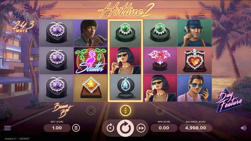 Hotline 2 Slot by NetEnt: One of the best slots to play in September 2020.
